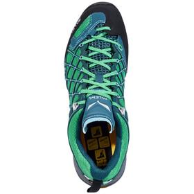 Salewa Wildfire S GTX Approach Shoes Women cypress/river blue